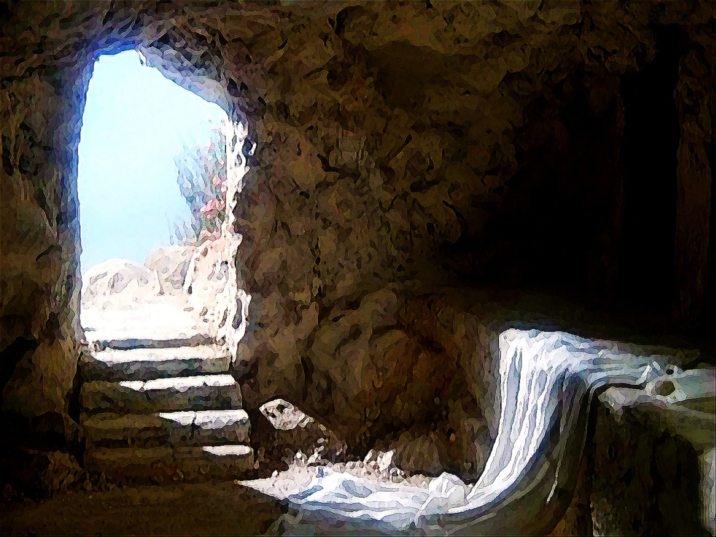 The Tomb is Empty! Grave Clothes Left Behind! | Rebekah Beene