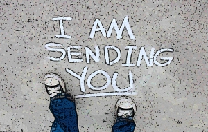 feet sending
