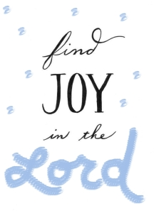 joy in the lord